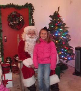 Hanna and Santa