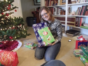 me and a couple of my presents