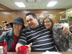 Susan, Paul, and me