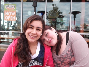 Melissa and Vanessa