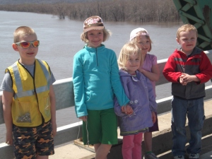 "the 5 ""big kids"" on the bridge"