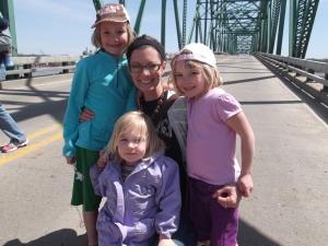 Becca, Andi, me, and Hannah