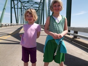Hannah and Rebecca