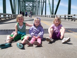 Becca, Andi, and Hannah