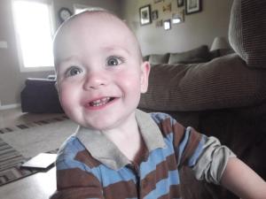 Jeremiah--happiest baby I've met