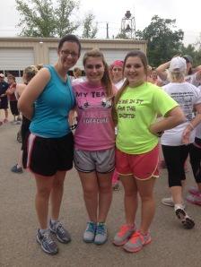 me, Dana, and Audrey