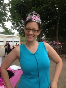 "my Princess crown--""If the crown fits..."""