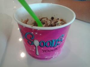 3 Spoons for dessert!