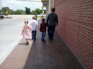 walking together....