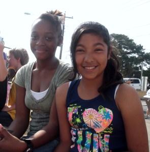 Jalisa and Melanie