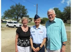 Mom, Alika, and Dad