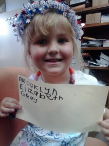 Brookyln spelled her WHOLE name