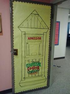 The Bible Study Room door