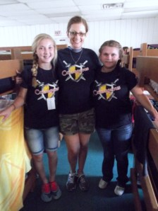 Triplet Day for Madison, me, and Macie