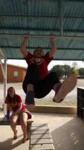 Jaycie swinging....