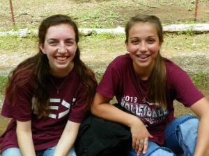 Brittanie and Lauren