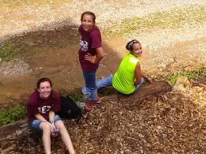 Brittanie, Lauren, and Emilie
