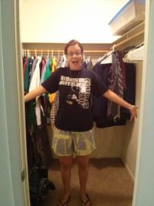 We have a HUGE closet!!