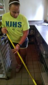 Jasmine sweeping