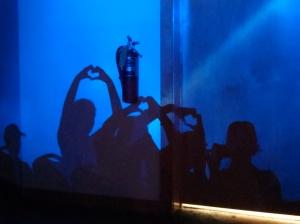 making shadow hearts before worship