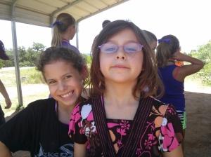 Zoe and Aislyn
