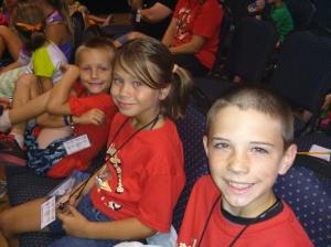 Mason, Delanie, and Billy