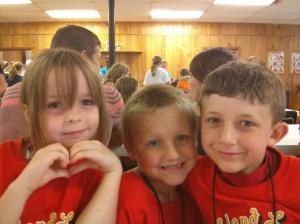 Sierra, Mason, and Luke