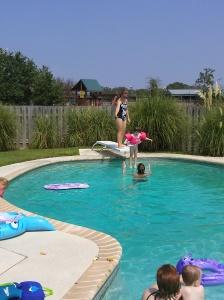 MOPS swim party