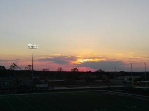 beautiful Giddings sunset