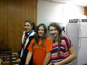 Melissa, Taylor, and Lindsay