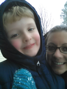 Ethan and me