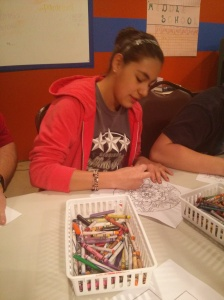 Melissa coloring