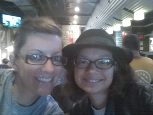 Kainani and me at Chili's