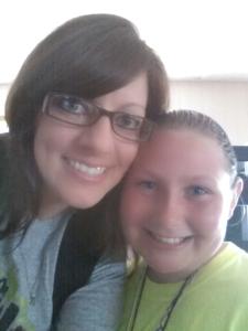 me and Erika