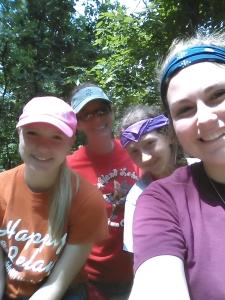 Hannah, me, Lindsey, and Dana