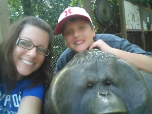 """selfie"" at the zoo"
