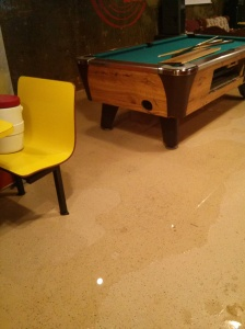 basement flooded