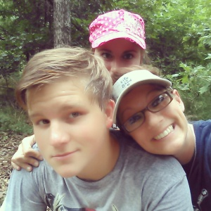 Walker, Dana, and me