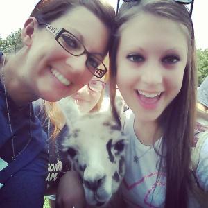 me, Tina, and Victoria