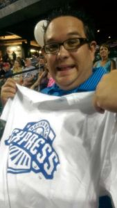 his free shirt