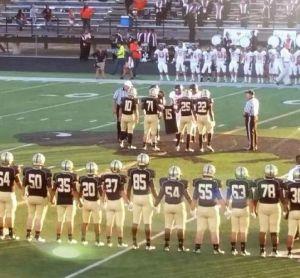 Varsity team captains
