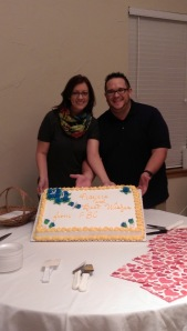 us with the cake at FBC