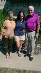Mom, me, and Dad