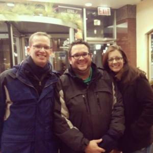 Jonathan, Paul, and me