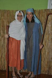 Lisa and me (we were shepherds)