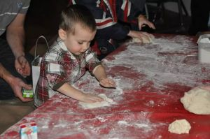 Kacer kneading dough