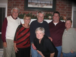 Dad, Mom, Uncle Dub, Aunt Lori, Jeff, and Terri