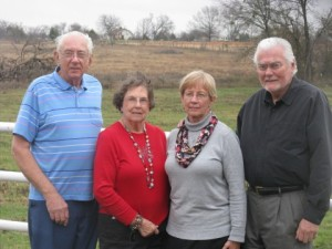 Uncle Tom, Aunt Charlene, Mom, and Dad