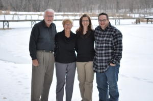 Mom's favorite of the four of us
