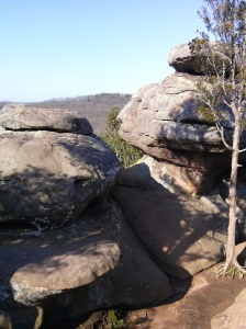 rocks to climb on